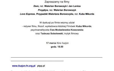 17.03.2019 Ukryte. Psychoanalityczne spotkania filmowe.