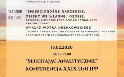 Wydarzenia IPP 2020